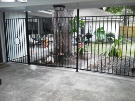 black-wrought-iron-fence