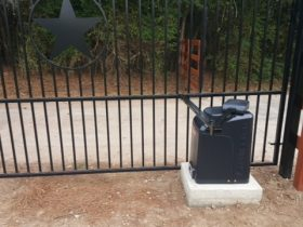 black-wrought-iron-gate-operator